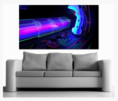 Arcade Tron Canvas